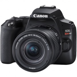 Canon EOS Rebel SL3 Sensor 24.1MP, UHD 4K, Lente EF-S 18-55mm IS STM