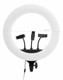 Iluminador Ring Light Make Greika 18 Polegadas Quente/frio