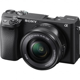 Sony Alfha A6400 Mirrorless Câmera Digital com Lente 16-50mm-24.3MP-Full HD de Vídeo