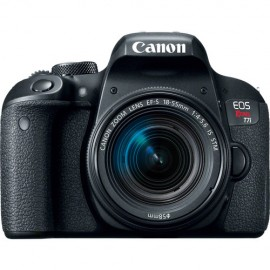 Canon EOS Rebel T7i Sensor CMOS APS-C 24.2MP, EF-S 18-55mm f/4-5.6 IS STM