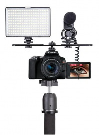 Iluminador Led Tl-180s Greika Para Foto, Live Ou Video No Youtube