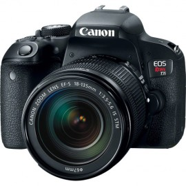 Canon EOS Rebel T7i Sensor CMOS APS-C 24.2MP, EF-S 18-135mm f/3.5-5.6 IS STM